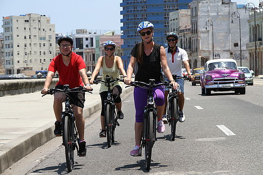 Kuba - E-Bike Tour Havanna